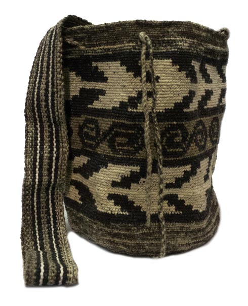 Misak People Colombian Mochilas - Altamisa leaves Misak Mochila bag