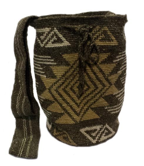Misak People Colombian Mochilas - Rose Misak Mochila Bag