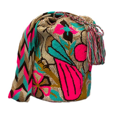 Colombian Wayuu Mochila Bags Online sale - Animals Wayuu Mochila Bag