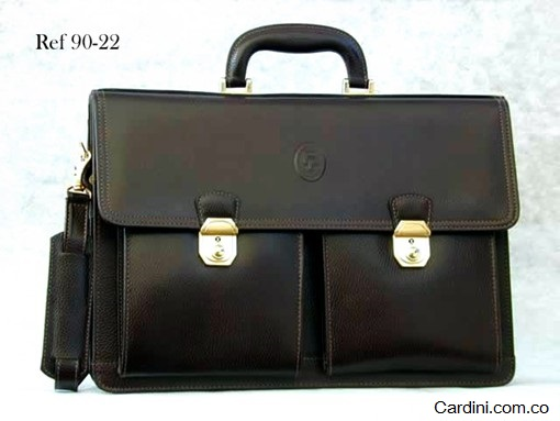 Briefcases made with Veganil Leather - Briefcase