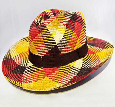 Typical Sandona Colombian Hats - Multicolor Sandoneño Hat