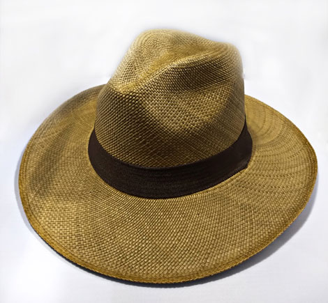 Typical Sandona Colombian Hats - Brisa Sandoneño Hat color Coffee