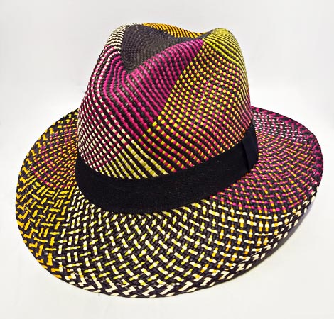 Typical Sandona Colombian Hats - Colored Sandona Hat