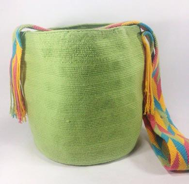 Mochila Wayuu Verde claro