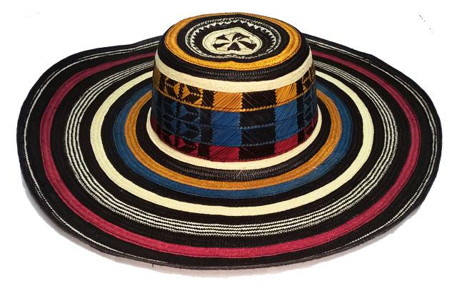 Sombrero Vueltiao Machinbreado en Colores